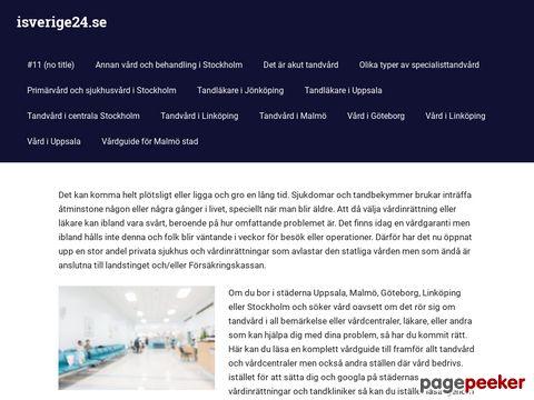 Webbkatalog i Sverige