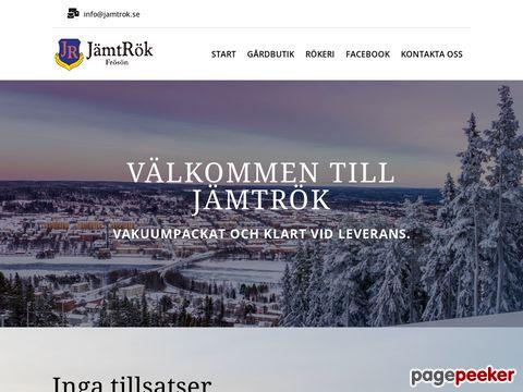 Välkommen till JämtRök i Frösön/Jämtlands län/Sverige.