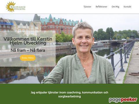 Kerstin Hjelm Utveckling