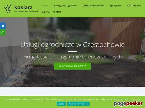 """KRZYSZTOF KOWALIK Firma Usługowa """"Kosiarz"""""""