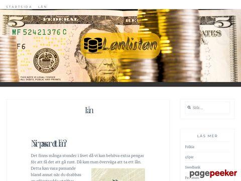 Lånlistan | Lån för alla