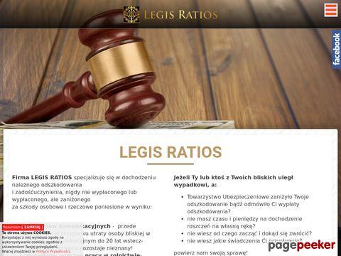 LEGIS RATIOS Kancelaria Prawno Odszkodowawcza Marzena Szlosek