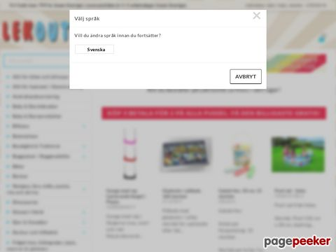 LekOutlet - Leksaker till Outlet-priser