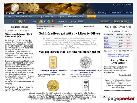 Köpa Guld och Silver - Liberty Silver