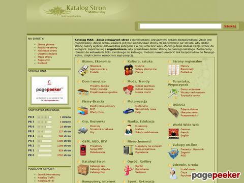 Katalog Stron - MAR