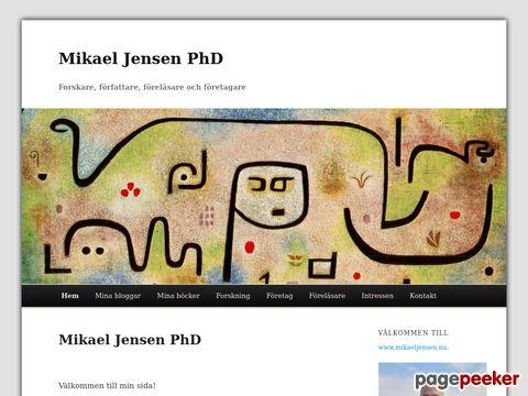 Mikael Jensen PhD - Forskare,  Författare,  Föreläsare och För