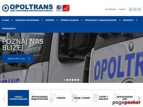 OPOLTRANS Przedsiębiorstwo Handlowo- Usługowo-Produkcyjne Janusz Wiszczuk
