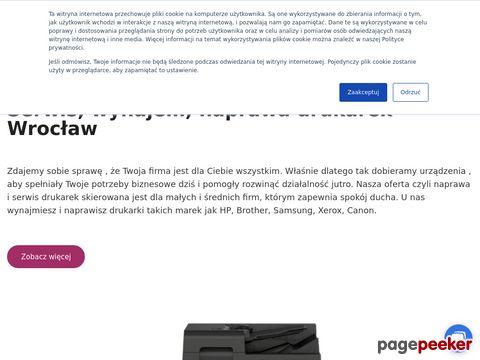 Serwis drukarek Wrocław