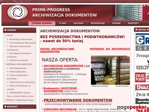 PRIME-PROGRESS PAWEŁ WRZOSEK