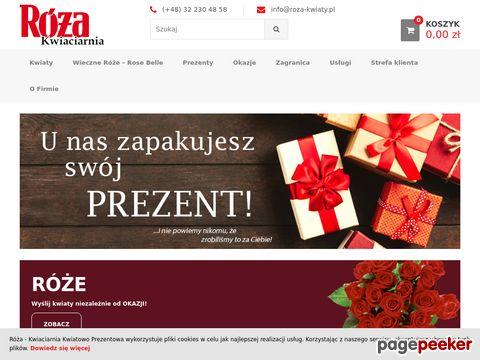 KWIACIARNIA RÓŻA internetowa kwiaciarnia