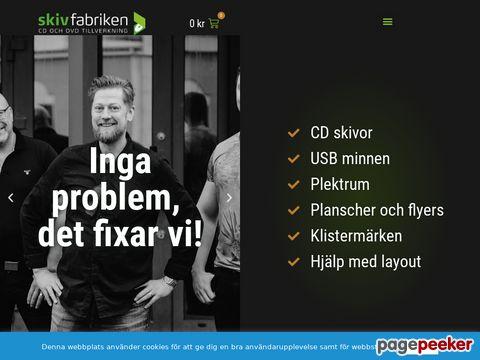 Trycka,  kopiera och tillverka CD och DVD skivor på 4 dagar