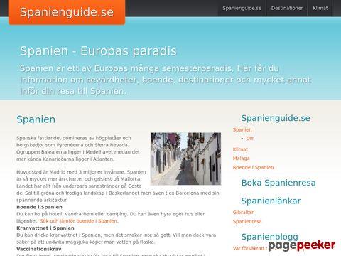 Reseguide till Spanien - Spanienguide.se