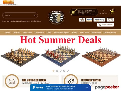 The Chess Store Coupon Codes & Promo Codes