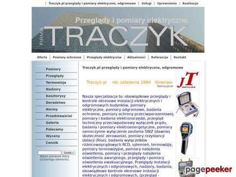 Traczyk.pl - Instalacje, pomiary