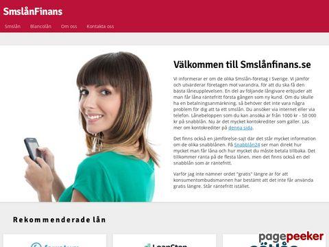 SMSlån - Låna gratis - Trots betalningsanmärkningar