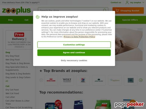 zooplus.co.uk discount code