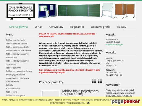 Zakład Produkcji Pomocy Szkolnych Online