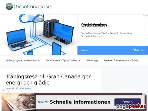 www.vädergrancanaria.se