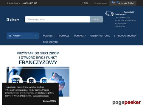 """BARTOSZ ZIĘBA Firma Handlowo-Usługowa """"ZIKOM"""""""